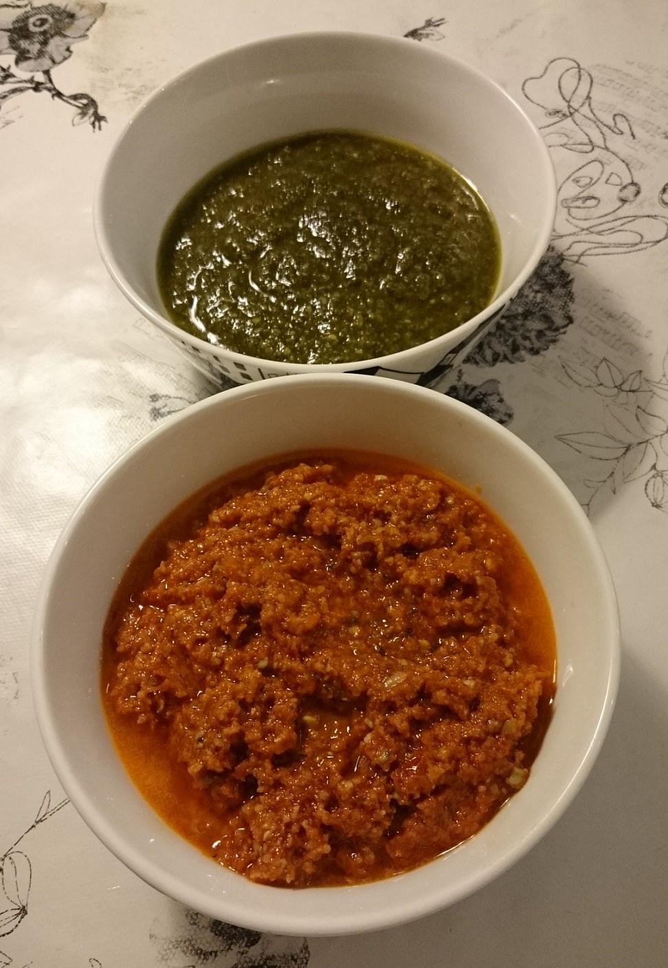 Pesto – många varianter